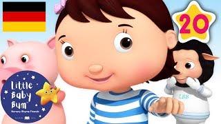 Wo ist Mia?   Kinderlieder   Little Baby Bum Deutsch   Kinderreime   Cartoon Für Kinder