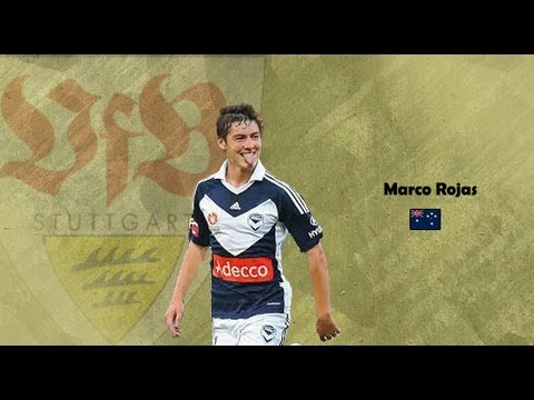 Marco Rojas   Stuttgart   Skills. Goals. Assists   2013 HD