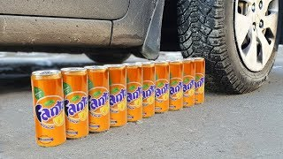 EXPERIMENT: CAR VS FANTA