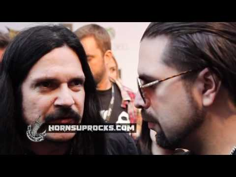 PRONG's Tommy Victor Discusses NEW Album 'Carved Into Stone' At The Golden Gods Awards!
