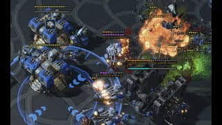 Reynor (Z) v uThermal (T) on Cerulean Fall - StarCraft2 - Legacy of the Void 2019