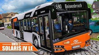 OMSI 2: SOLARIS 12 IV LE #1: Unterwegs in Waldhofen mit dem VER-Solaris! | Bus-Simulator