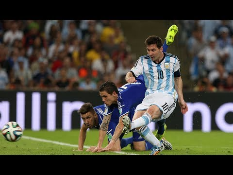 Argentina vs Iran 1-0 World Cup 2014 - Amazing Messi Goal vs Iran + Review [HD]