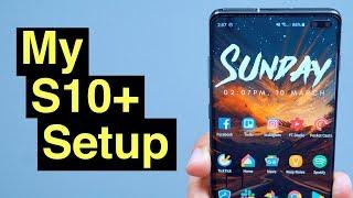 My Samsung Galaxy S10+ Setup (Wallpapers, Widgets, & More)