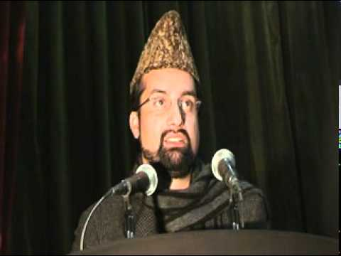 Mirwaiz Umar Farooq speaking at Hussain Day function