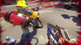 Just an Average Game of Overwatch