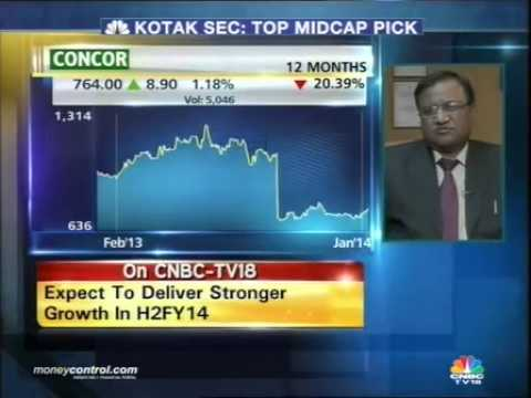 Container Corp eyes 10% revenue growth by FY14-end