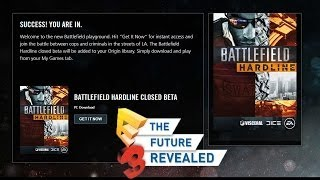 Battlefield Hardline beta Is live Download Now (PS4, PC) E3 2014 EA Press Conference News