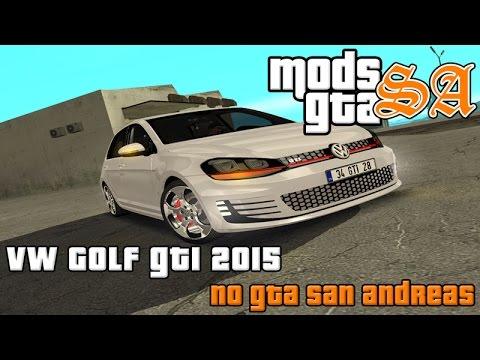 GTA SA - Volkswagen Golf GTI 2015