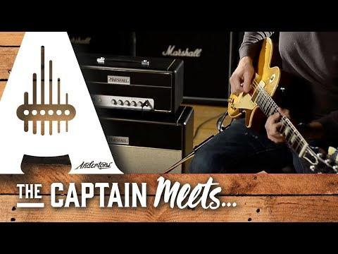 Joe Bonamassa plays the Andertons 1964 reissue Marshall JTM145 Head