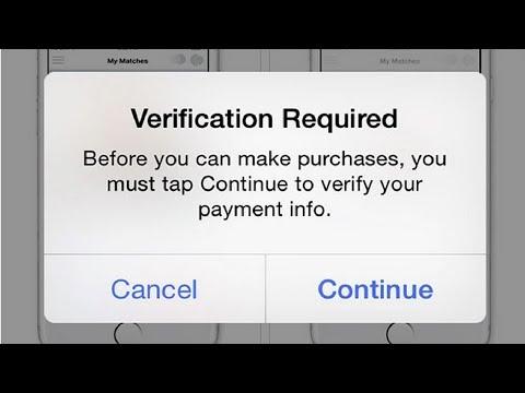 НЕ МОГУ СКАЧАТЬ ПРИЛОЖЕНИЯ С AppStore? (Verification Required)