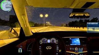 City Car Driving 1.4.1 İnfiniti QX56 (0-240)Son Hız(Top Speed)