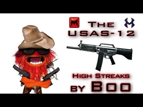 USAS-12 Gameplay | High Streaks - Modern Warfare 3