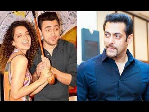 Kangana Ranaut: I did 'Katti Batti' because of Salman Khan | Radio Mirchi | Imran Khan