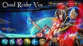 Cloud Raider Vox Skin! CP Lane Gameplay | Vainglory