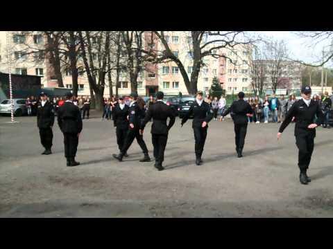 XIV LO W Katowicach- Musztra Paradna