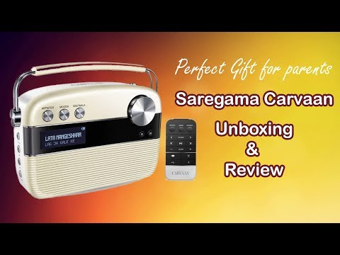 Saregama Carvaan Unboxing & Review | Radio Details | Sound Testing | Music Player