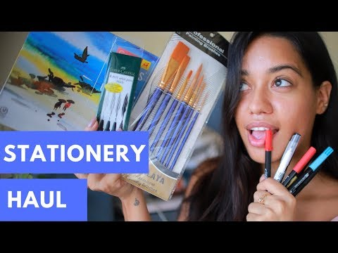 STATIONERY & ART SUPPLIES HAUL