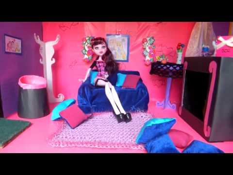 Мой дом для куклы монстер хай своими руками