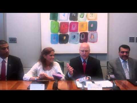 Mayor Landrieu and Republic of Haiti Minister of Tourism Sign Memorandum of Understanding
