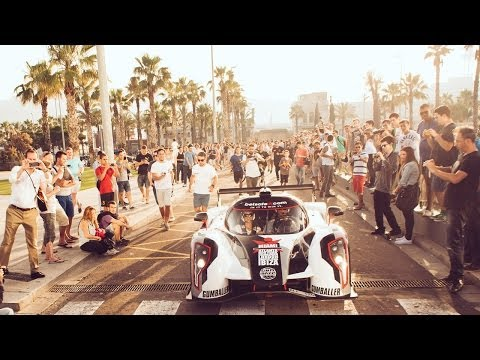 In the Heat of the Rebellion - Jon Olsson, Janni Delér & deadmau5 in 2014 Gumball 3000- Team Betsafe