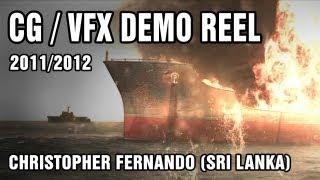 Christopher Fernando - VFX demo reel 2011/2012 for Sri Lankan Movies