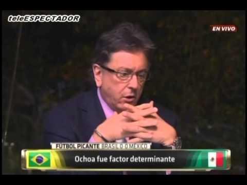 Analisis del MEXICO vs BRASIL -- 2014