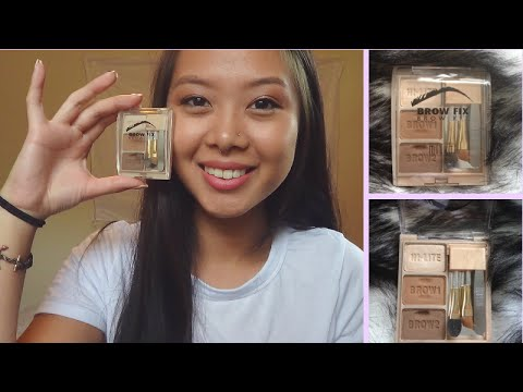 REVIEW   Milani Brow Fix Brow Kit