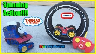 Thomas and Friends Remote Control Toys Train Turbo Flip Thomas