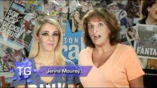 Jenna Mourey, Naughty or Nice? Track Gals TV