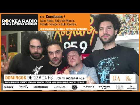 "Rockea Radio 95.9 Seccion Emprendedores: Maxi Salcedo ""Guitarworks"""