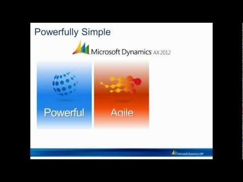 Microsoft Dynamics AX2012 Overview Webinar