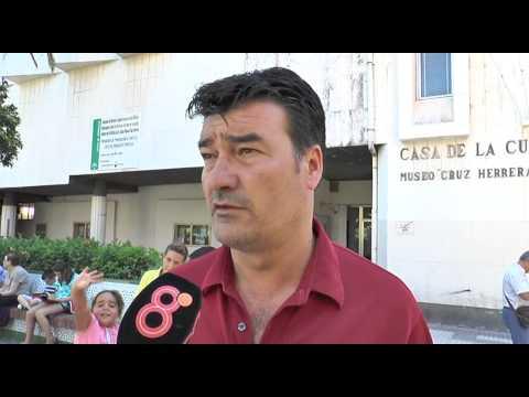 Rafa Escobar en previa Balona-UCAM Murcia (22-08-14)
