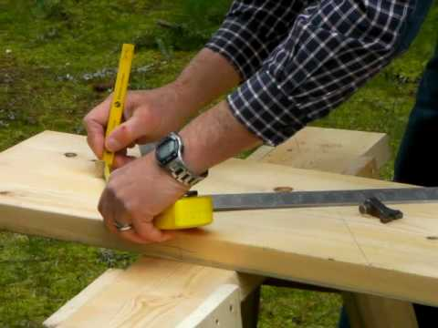 How to Layout and Cut a Stair Stringer
