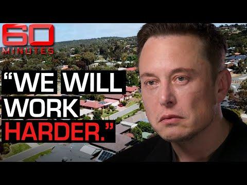 Elon Musk says Australia's energy emergency is easily fixable - Part one | 60 Minutes Australia
