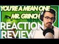 """Tyler The Creator   """"You're A Mean One, Mr Grinch"""" The Grinch (2018) FIRST REACTIONREVIEW"""