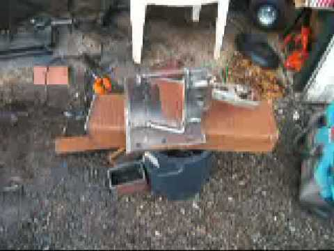 Building a log splitter part 1