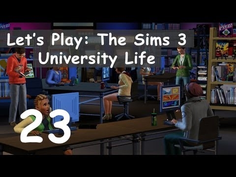 Let's Play: The Sims 3 University Life - [Part 23] - Home Improvement!