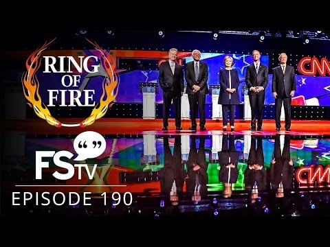 Ring of Fire On Free Speech TV | Episode 190 - Dissecting The Democratic Debate