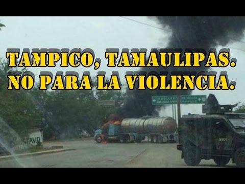 Secuestros, extorsiones, amenazas, escuelas cerradas. La vida cotidiana en Tampico.