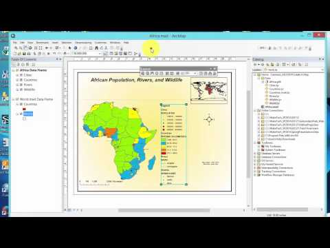 ArcGIS Create A Map Layout