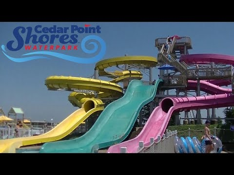 Cedar Point Shores Waterpark 2018 Tour & Review with Ranger