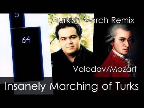 Insanely Marching of Turks - Piano Tiles 2 | Mozart/Volodov - Turkish March (Mixed by Beepy)