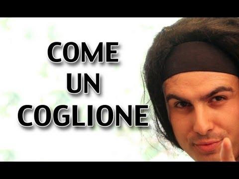 COME UN COGLIONE - Parodia di 'Come un pittore' - Daniele Brogna