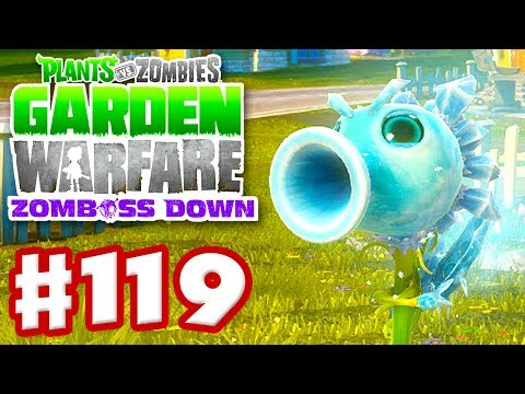 Plants vs. Zombies: Garden Warfare - Gameplay Walkthrough Part 119 - Ice Pea (Xbox One)