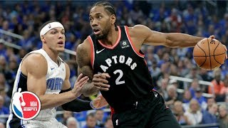 Kawhi Leonard scores 34 points, Raptors win Game 4 vs. Magic | NBA Highlights