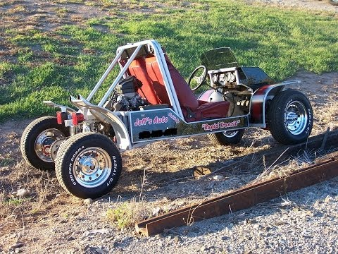 Homemade Go Kart 103-HP Burnouts Wild Ride  - NEW-