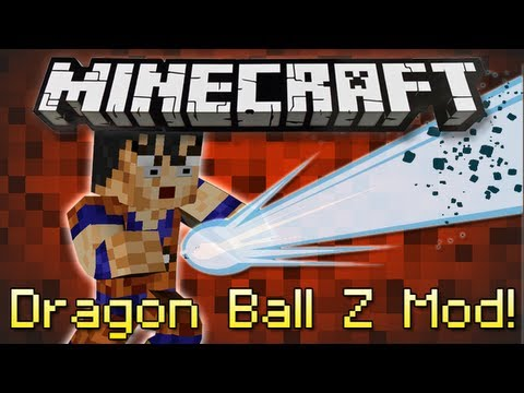 Minecraft | DRAGON BALL Z MOD! | Kame Hame HA! [1.4.7]