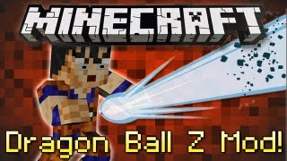 Minecraft : DRAGON BALL Z MOD!