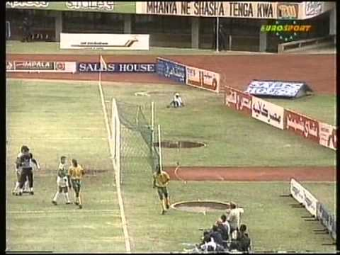 1992 December 20 Zimbabwe 2 Egypt 1 World Cup Qualfiier